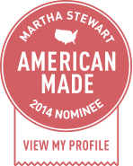 Martha Stewart - American Made 2014 - Nominee Badge